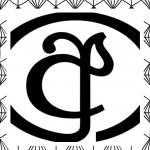 logo met een ayanna, de a in het Sinhala