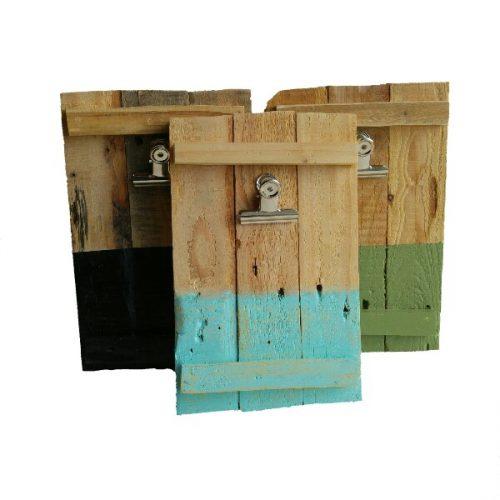 memobord of fotolijst handgemaakt van resthout