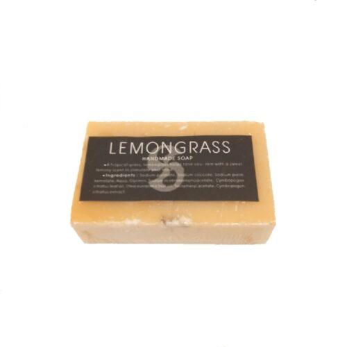 handgemaakte zeep met lemongrass