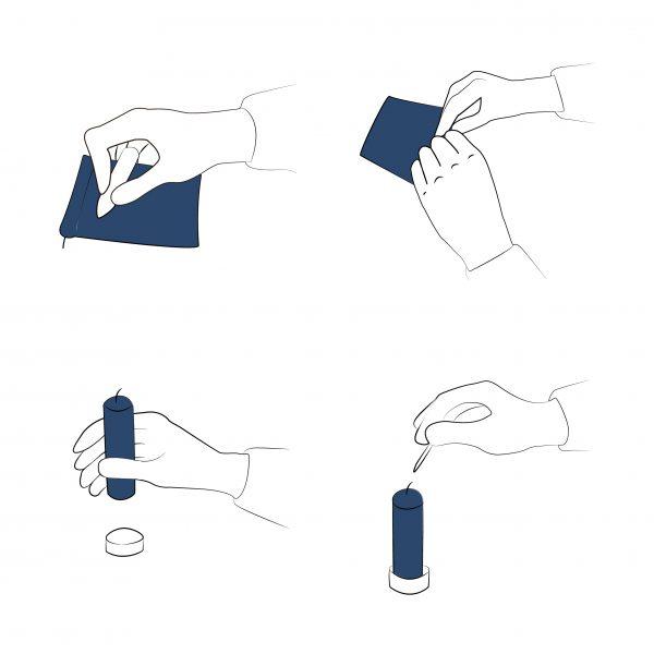 gebruiksaanwijzing briefkaars