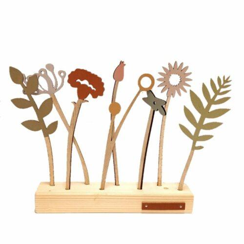 houten bbloemen