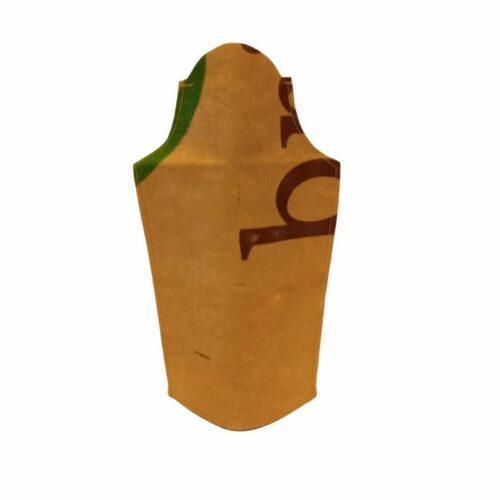 flesvas in de vorm van een klokgevel