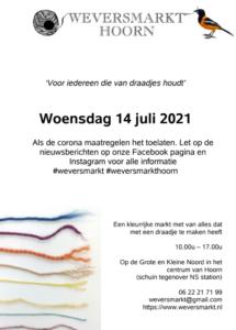 flyer Weversmarkt 2021 Hoorn