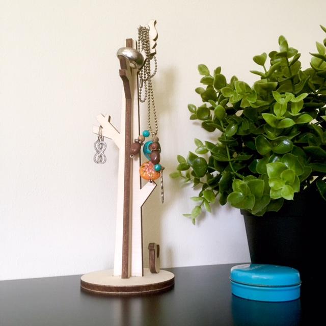 sieradenboom in gebruik
